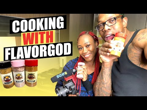 Cooking with FlavorGod easy meal prep for the week under $ 60
