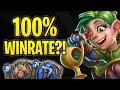 This DRUID deck is BROKEN!   Almost 100% Win Rate to LEGEND!   Boomsday Project   Hearthstone