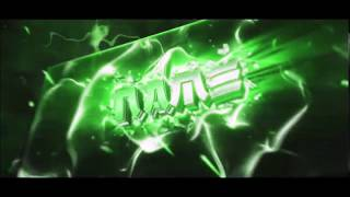 GREEN C4D + AE INTRO TEMPLATE