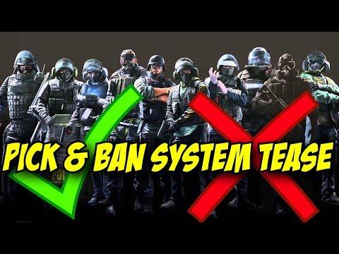 Rainbow Six Siege New Pick & Ban System Tease. R6