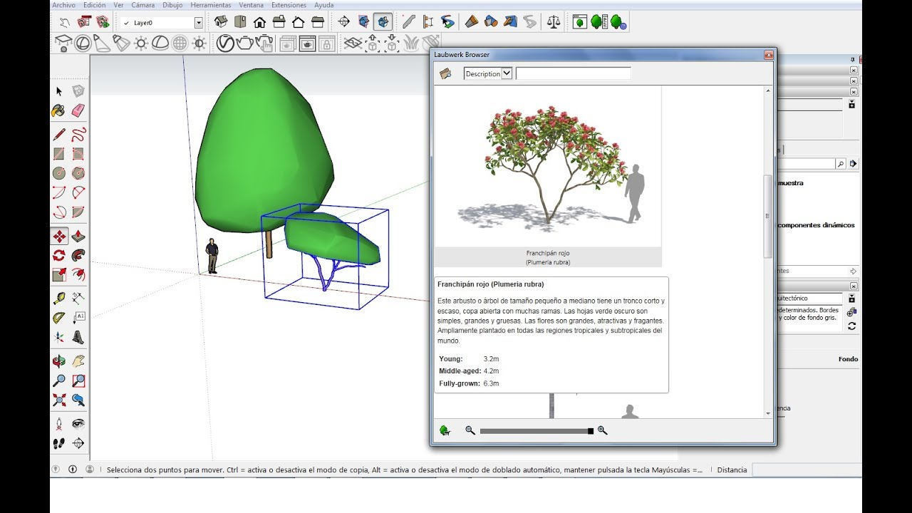How to install Laubwerk Plugin in Sketchup Kit Catalog Free Plants