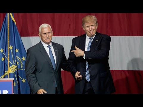 Donald Trump Introduces Running Mate Mike Pence
