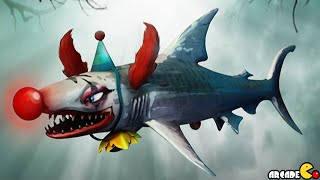 Hungry Shark Evolution - HALLOWEEN Update The new Clown Baby Unlocked!