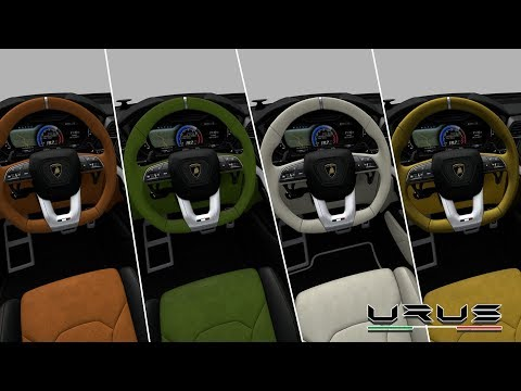 2019 Lamborghini Urus INTERIOR / Awesome Color Options