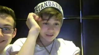 Bars and Melody: Leo and Elliot YouNow (11/1/15) – Part 4