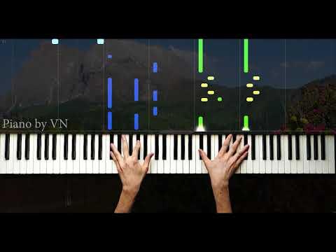 Gözüm yaşla dolmasınmı Dağları duman alanda - Piano by VN