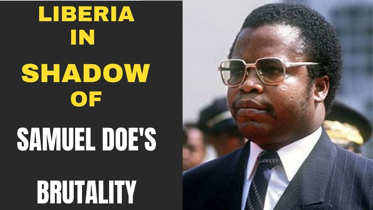 Download LIBERIA IN THE SHADOW OF SAMUEL DOE'S BRUTALITY