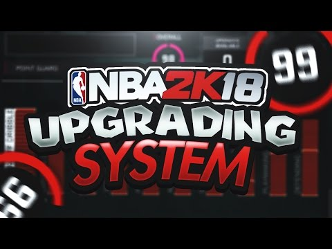 THE SOLUTION FOR THE ATTRIBUTE AND BADGE UPGRADING SYSTEM IN NBA 2K18