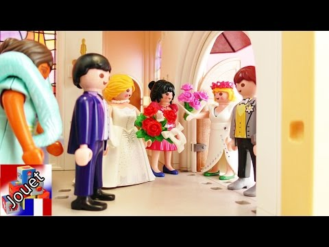 Film Playmobil français – Eglise Playmobil – Les futurs mariés au mauvais mariage! thumbnail