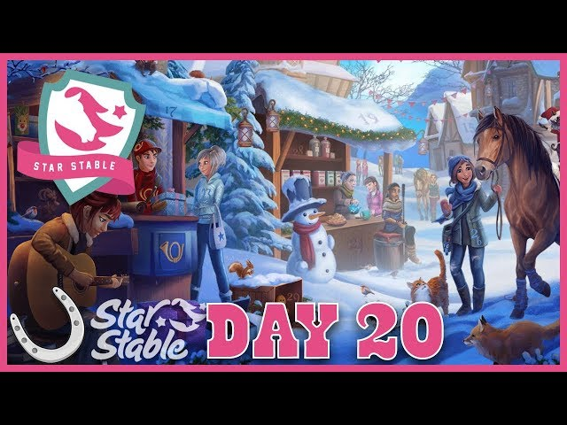 Day 20 Free SSO Tail Bow Code - Holiday Calendar 2018 🐴 Star Stable Online