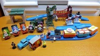 【カプセルプラレール きかんしゃトーマス】ソドー島のパーティー編 全17種 残りの11個のカプセルを開封