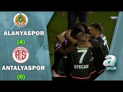 Alanyaspor 4 - 0 Antalyaspor MAÇ ÖZETİ (Ziraat Türkiye Kupası Yarı Final Rövanş