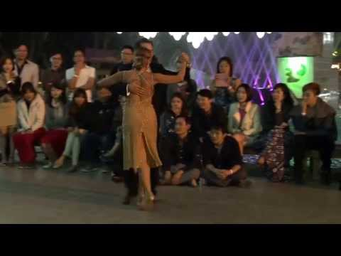 Geraldin Rojas & Ezequiel Paludi 2, Korea island tango Festival , 12. 09. 2015 at Nami island
