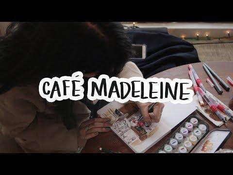 Urban Sketch - Café Madeleine   Ch▲r ▼illen▲