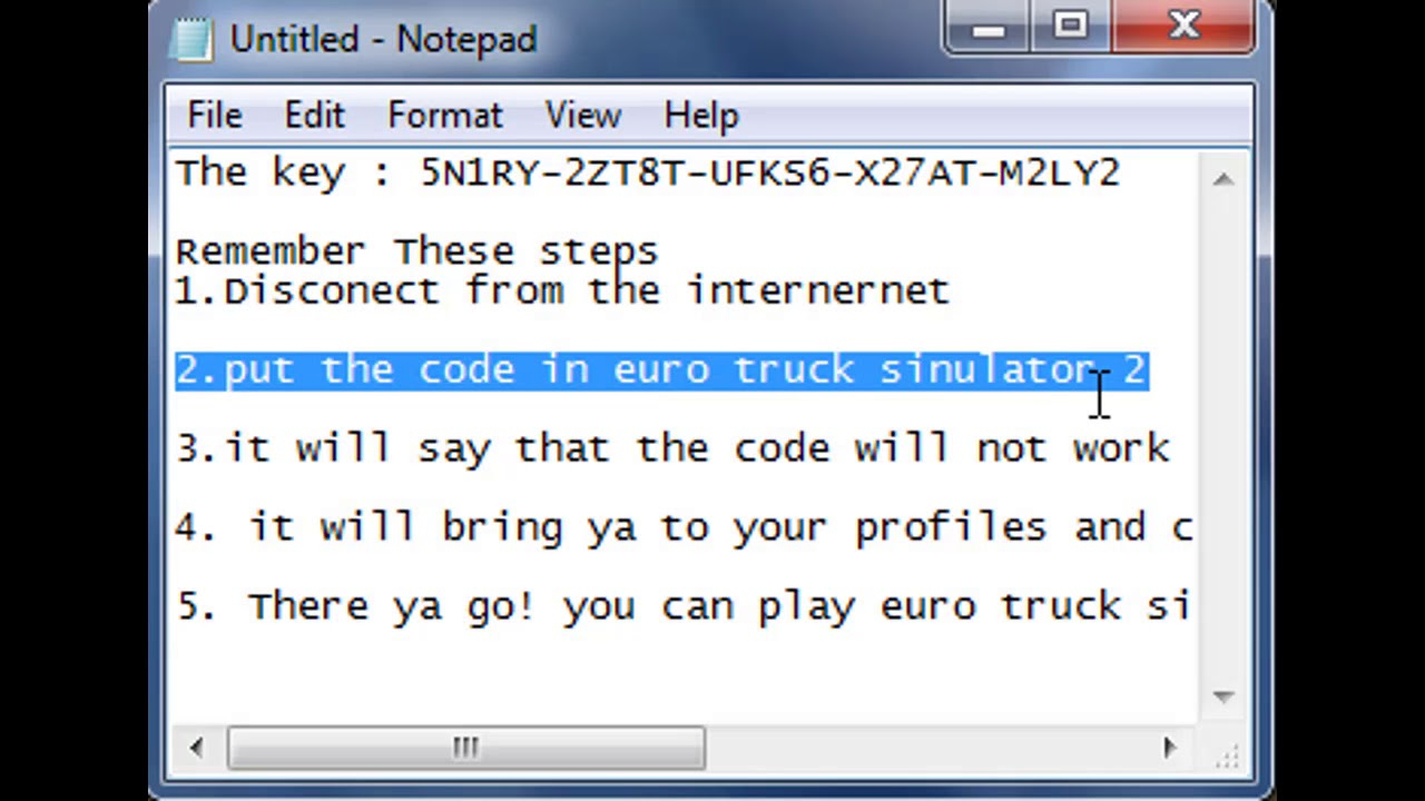 euro truck simulator 2 activation product key