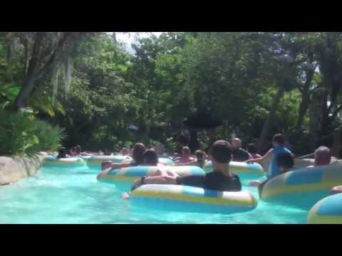 Disney's Typhoon Lagoon Water Park - Castaway Creek Lazy River Point of View