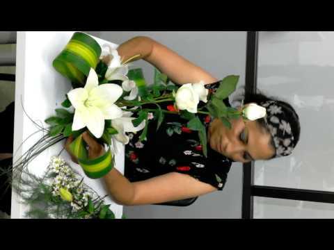Arreglo Floral Para Boda Youtube