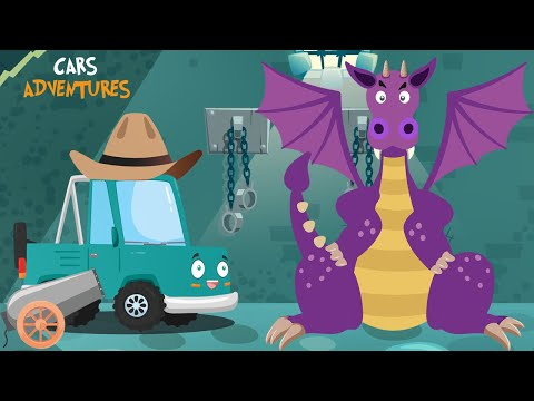 Cars Adventures #14 Conquest of the castle struggle with the Dragon