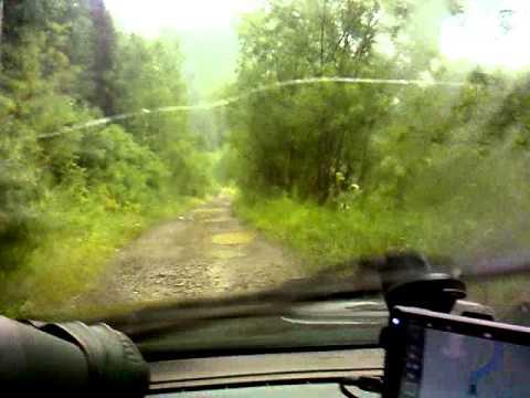 Новокузнецк-Абакан через тайгу 2013