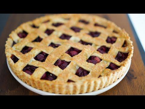 recette-cherry-pie-/-tarte-aux-cerises