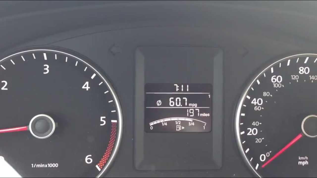60 MPG VW Jetta 2013 TDI - YouTube