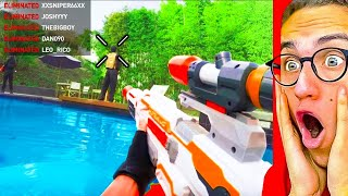 Reacting To NERF VIDEO GAMES in REAL LIFE!