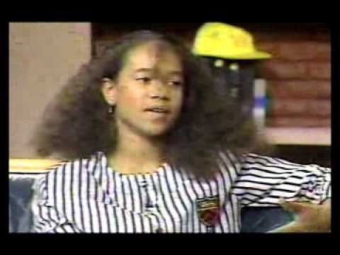 Tracie Spencer 1st Appearance on BETs  Soul with Donnie Simpson 1988