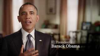 Barack Obama talks to Hector Salamanca