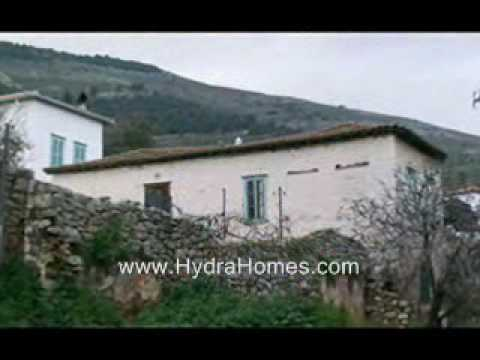 Build your Dream Home on the Greek island of Hydra.