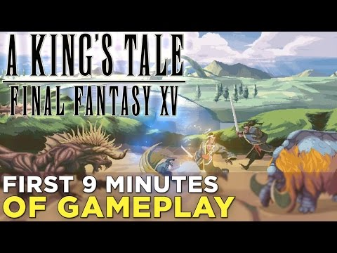 A King's Tale: Final Fantasy XV — GAMEPLAY! A 16-Bit Homage to the '80s