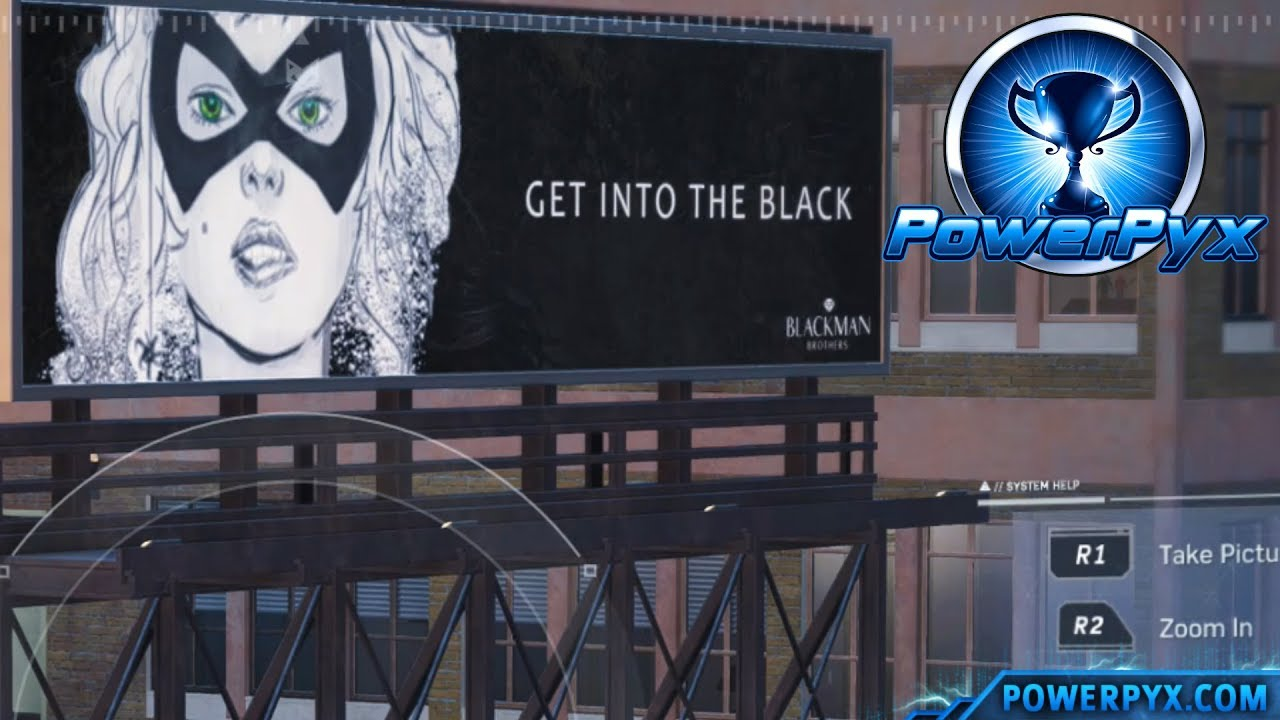 marvel's spider man 2018 - all black cat stakeout locations