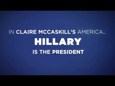 Claire McCaskill for Hillary Clinton