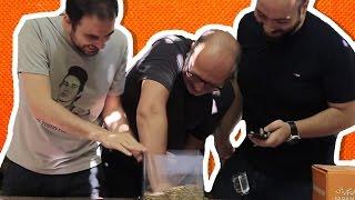 Elini CANLI KURT Dolu Akvaryuma Sokma Kapışması