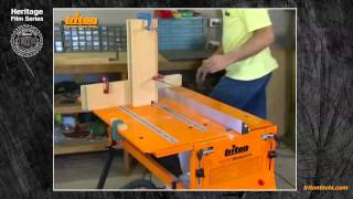 Finger Jointing With Triton Workcentre - Triton Heritage