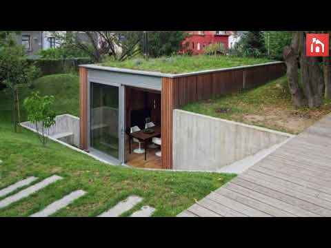 Semi-Underground Homes That Become One With The Land