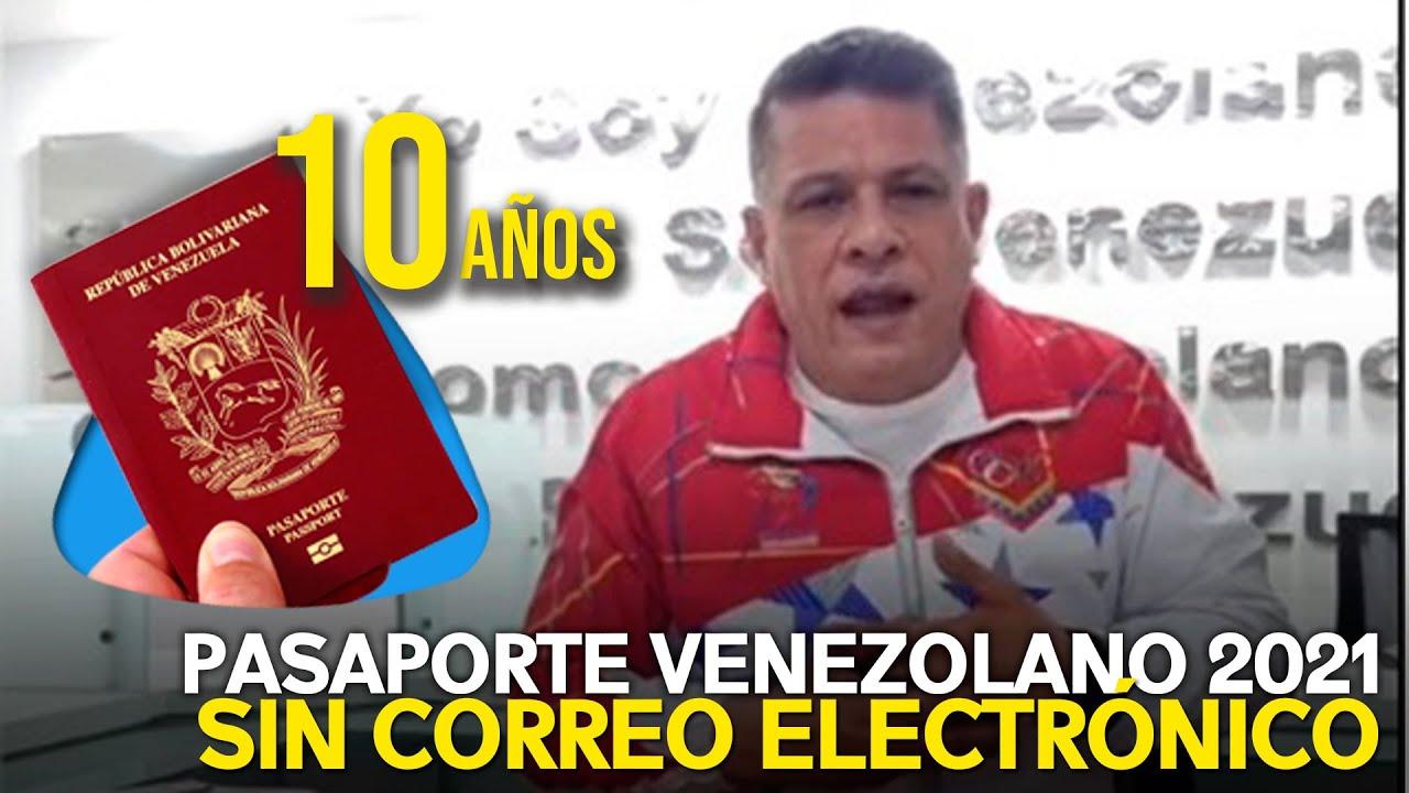 SAIME: Trámite de pasaporte venezolano se hará con cédula y no con correo electrónico