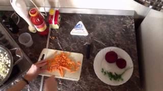 Свекольный крем-суп с сыром Снофриск