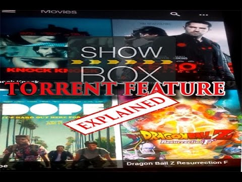 Showbox New torrent feature Explained/how...