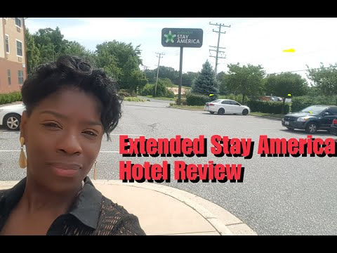 My Review Of A Low Rated Hotel- Extended Stay America.