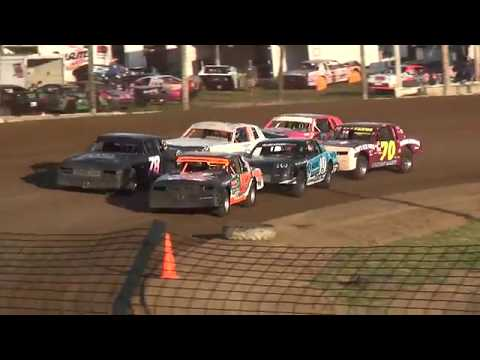 USRA Hobby Stock Heat 3 Upper Iowa Speedway 8/3/19