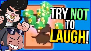 You LAUGH You LOSE - BRAWL STARS Funny Moments 2!