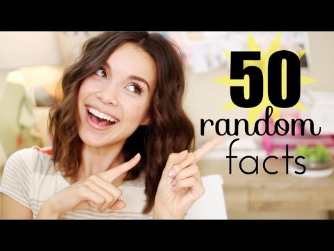 50 MORE Random Facts About Me! - YouTube