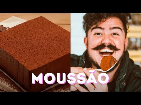 MOUSSE TAMANHO FAMÍLIA - GIGANTE DE CHOCOLATE I BIGODE SOZINHO NA COZINHA