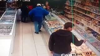 Кража в магазине Костаная