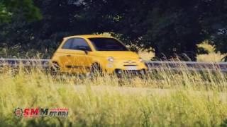 Nuova Abarth 595 Competizione test drive 2016