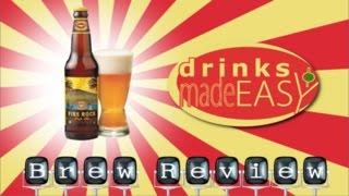 Kona Beer Fire Rock Pale Ale Review-Drinks Made Easy