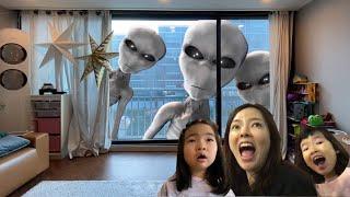 외계인은 있을까? 외계인이 나타났다! 유령외계인 유령 괴물외계인 거인외계인 UFO Alien is coming l Giant Alien l Aliens in my house