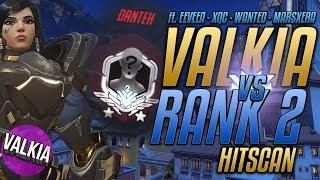 Rank 2 Pharah vs Rank 2 Competitive || Valkia vs Danteh [Overwatch]