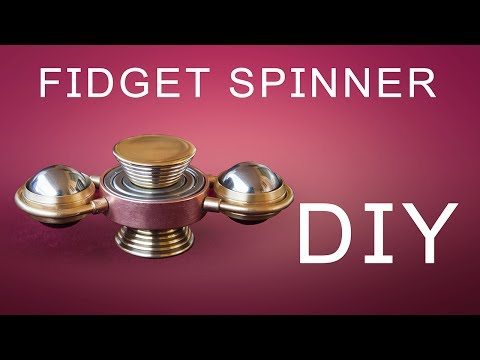 Thumbnail: DIY Fidget Spinner How To Make