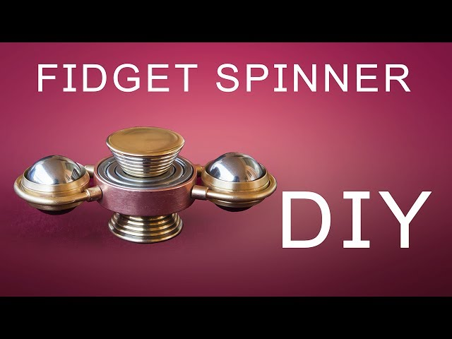 DIY Fidget Spinner How To Make